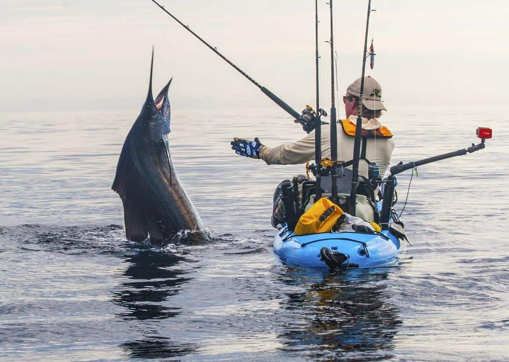 How to catch tuna from a kayak smart start kayaking for Sea fishing kayak