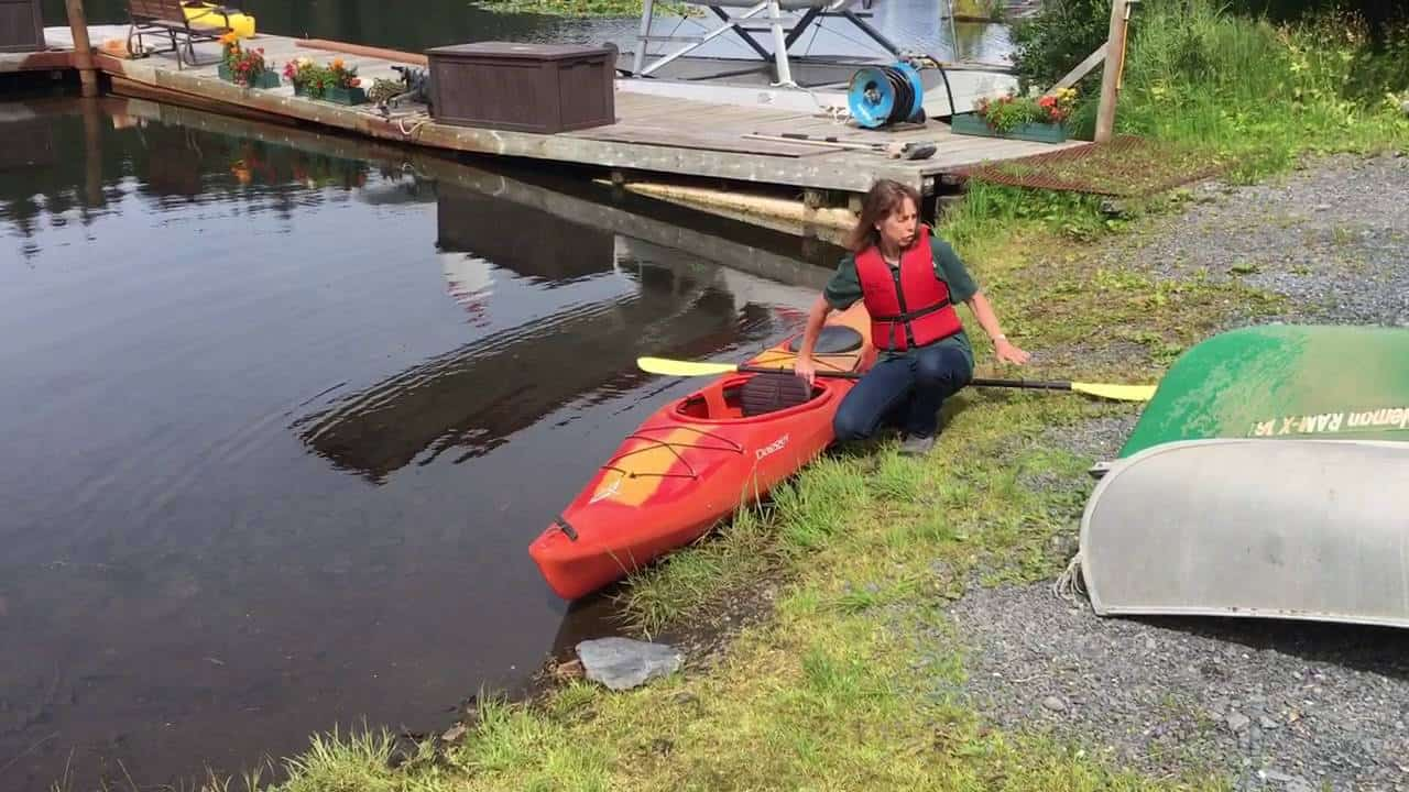 Getting In and Out of a Kayak with Ease!