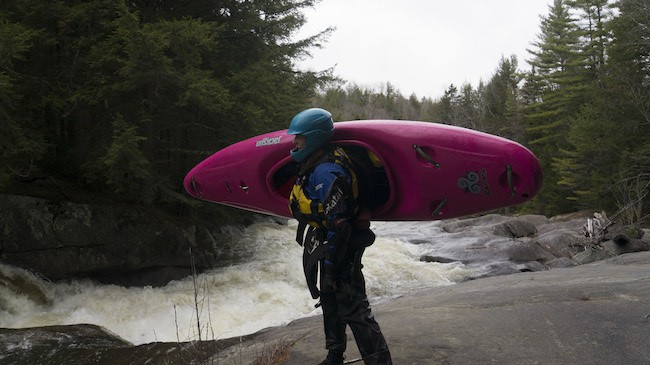 Lifting A Kayak Without the Ouch!