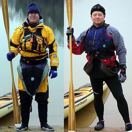 Kayaking Clothes for each season