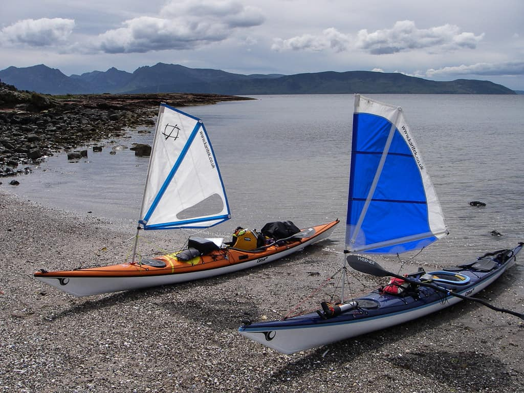 Kayak options with a sail smart start kayaking for Sea fishing kayak