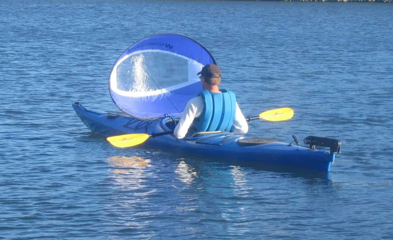 best kayak sail for lakes