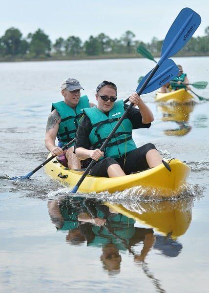 vibe kayaks tandem ride