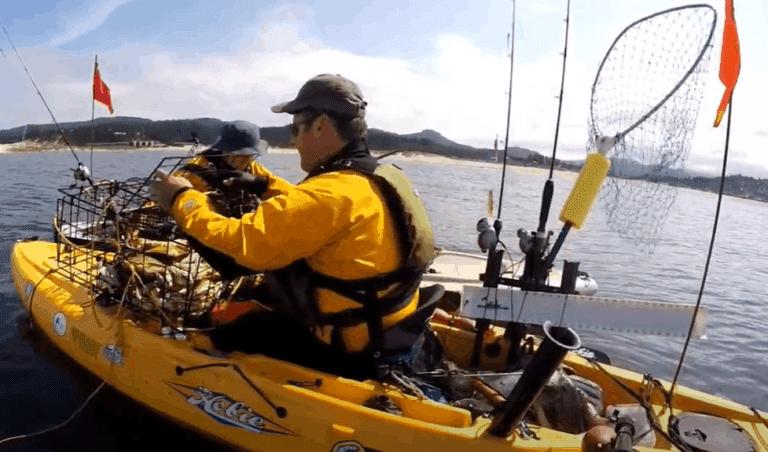 kayak crabbing