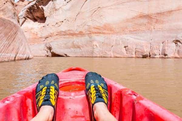 kayaking shoes