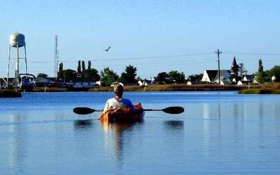 guy kayaking in virginia