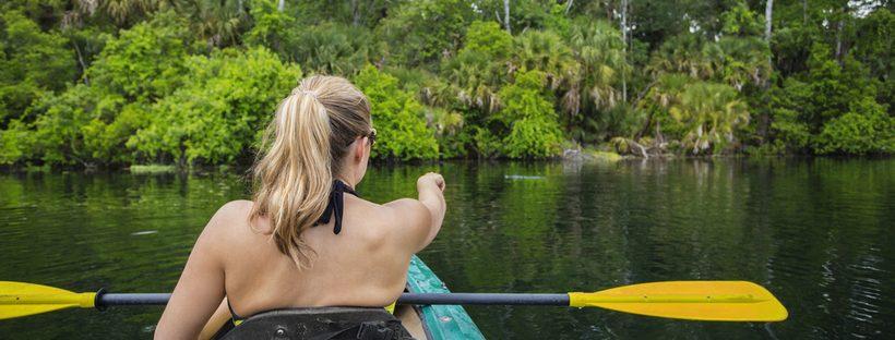 kayaking with gators